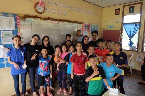 Tutees of our 2017 education project, Teringai-Tumunda