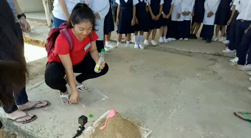 Volcano Eruption Demonstration